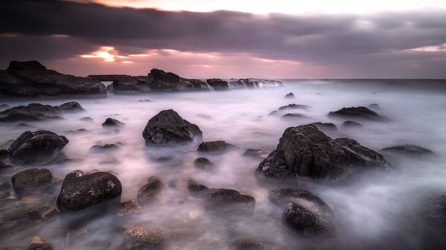 amakusa japan Beauty In Nature Cloud - Sky Day Horizon Over Water Long Exposure Motion Nature No People Outdoors Rock - Object Scenics Sea Sky Sunset Tranquility Water Wave