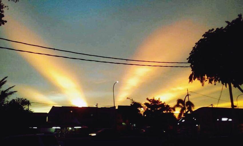 Phenomenal Sunset Sky