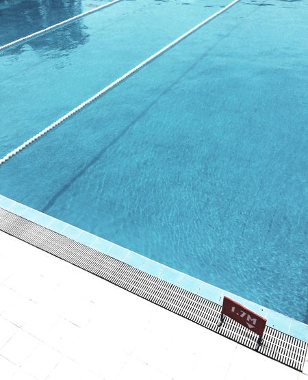 Relaxing Summer Day High Angle View EyeEmNewHere No People Poolside Swimming Lane Marker First Eyeem Photo