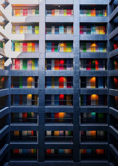 Minimalism Minimalism Travel Architecture Built Structure Building Exterior Full Frame No People Backgrounds Window Residential District Building In A Row City Apartment Pattern Multi Colored City Life Day Repetition Side By Side Outdoors The Architect - 2019 EyeEm Awards