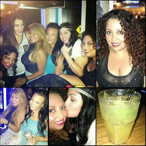 With the chicas! Chillnight Randoms