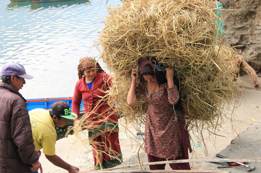 Adults Only Local Life Smiling Happiness Local People Teamwork Phewa Lake Pokhara!