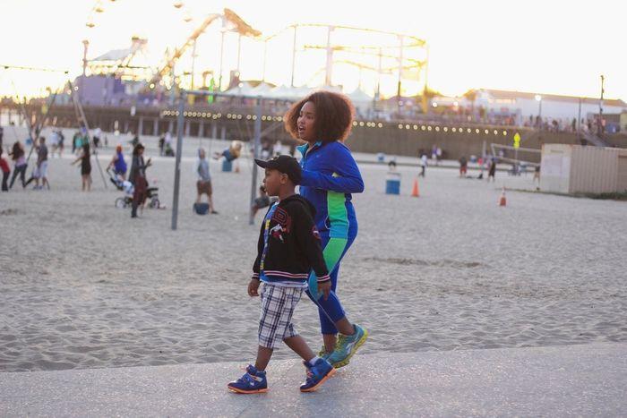 The Human Condition Los Ángeles Los Angeles, California Kids Santa Monica Pier