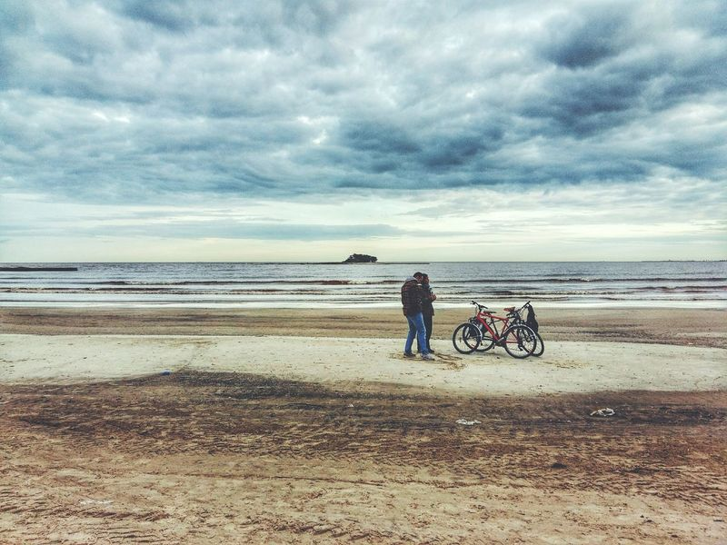 Autumn beach (Playa de otoño). Taking Photos The Great Outdoors - 2016 EyeEm Awards Samsungphotography Beach May Autumn Landscape Clouds And Sky Clouds Storm Simple Moment Eye4photography  My Favorite Photo Photooftheday EyeEm EyeEm Best Shots Sky EyeEm Awards 2016 Photography Uruguay Simple Photography Mobilephotography Photo Southamerica Montevideo