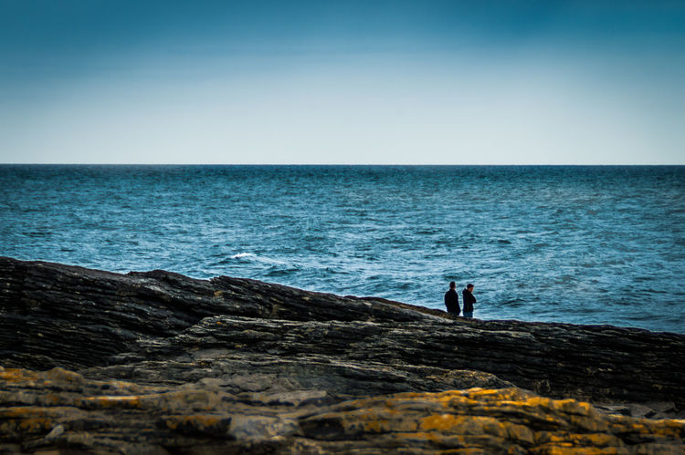 Getting Away From It All Hook Head, Ireland Horizon Over Water Ireland🍀 Motion Outdoors Rippled Rock Sea Seascape Shore Splashing Surf Vignette Water Waterfront Wave Wexford