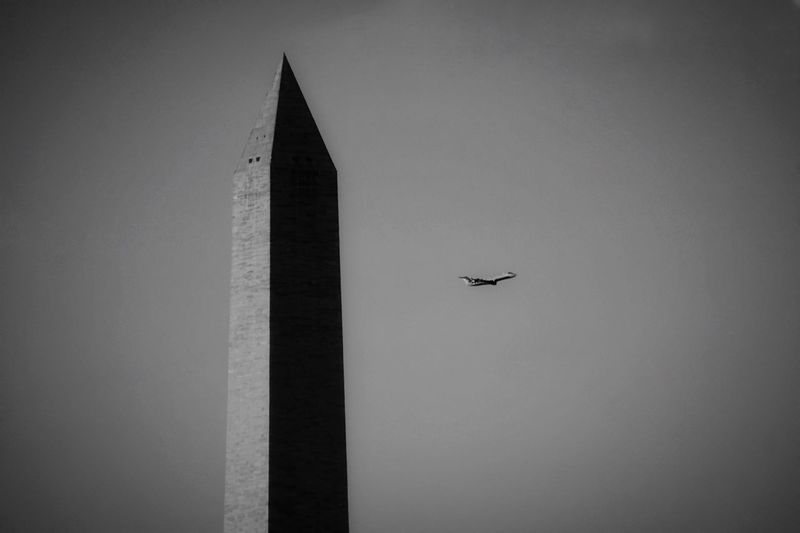 I Love My City Blackandwhite Black And White Washington Monument In The Skies Washington DC Streetphotography Creative Light And Shadow Office View