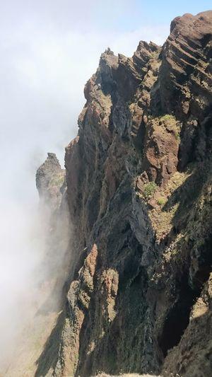 Madeira 1800m Madère Canyon Wolk Cloud Nature Fona