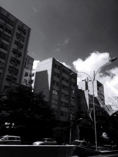 Blackie App Building Exterior Architecture Sky Outdoors Cloud_collection  My City Is Beautiful Blackandwhite Blackandwhite Photography