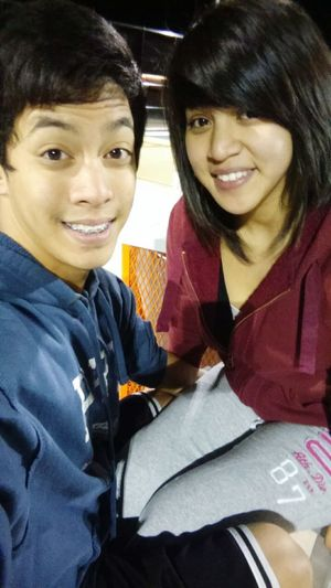 Love Is Beautiful Love And Basketball I Love You ! Boyfriend Filipino Asian Couples Are The Cutest Ronnie Is Bae Bae  Filipina Basketball