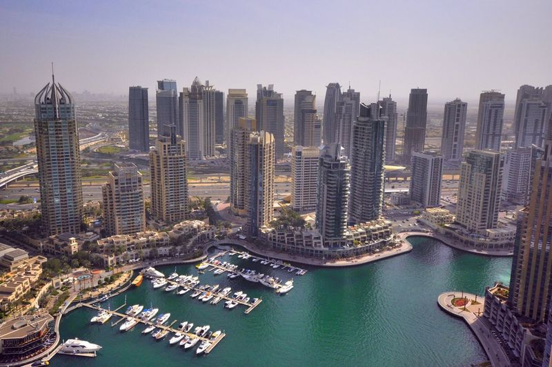 Dubai Marina view from the tallest twisted building in the world, Cayan tower Mydubai Hello World Getting Inspired Mycity Architecture Streetphotography Eye4photography