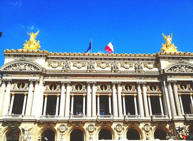 Opéra Ópera De Paris Paris Patrimoine Monuments Architecture Vacances Summer