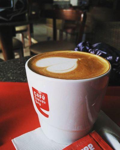 Ccd Cafecoffeeday Lavasacity Enjoyinglife  with brother..