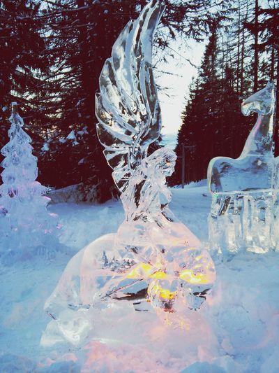 Hightatras  Tatry Vysoke Tatry Hrebienok Slovakia Ice Icestatues Icesculpture Ice Icemasters2015