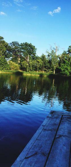Sweden View Water Wooods Stockholm