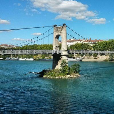 Bridge River Rhône Blue Hello World Taking Photos EyeEm Best Shots