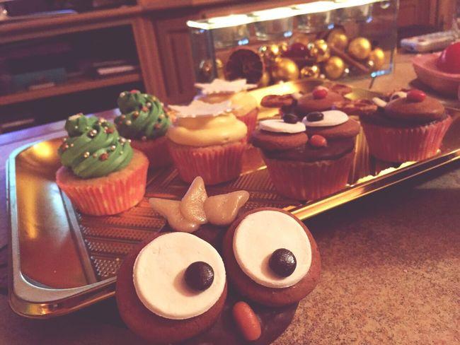 Owl Cupcakes Cupcakes Rudolph Christmas Tree