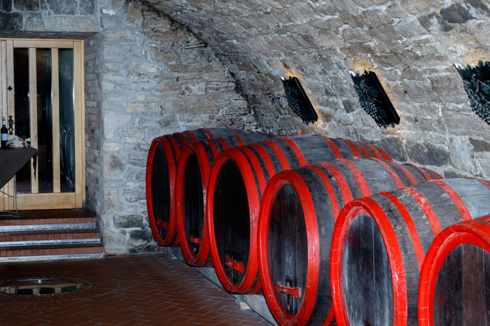 Wine cellar Arch Barrels Beverage Close-up Drink Drums Hookah Indoors  Red Row Stone Wine Wine Tasting Wooden