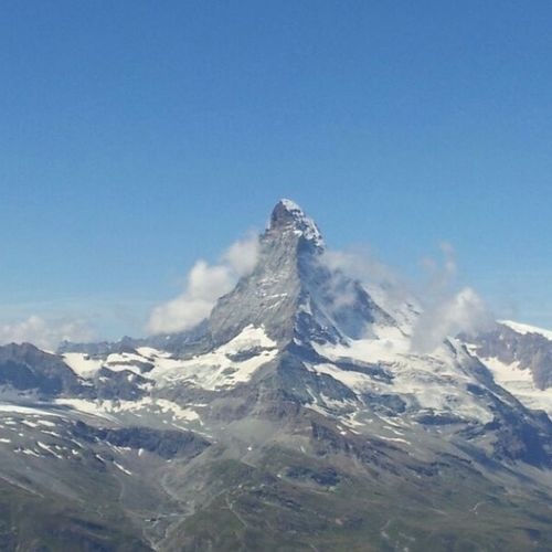 Matterhorn  war ein schöner Tag