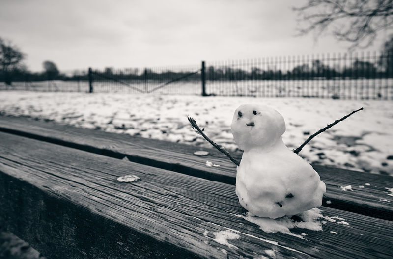 Snow man EyeEm Selects Snow Cold Temperature Winter Sky Snowman Fence Christmas Decoration Frost Icicle