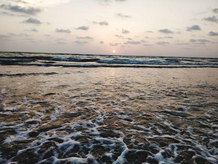 Beach Salt - Mineral Water Sea Salt Basin Sunset Desert Beach Arid Climate Industry Blue