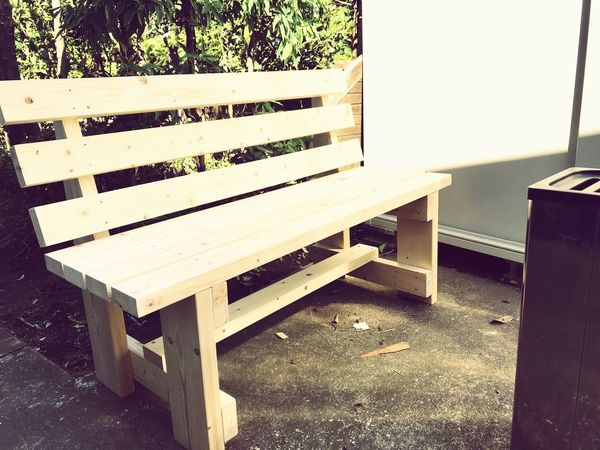 DIY DIY Seat No People Wood - Material Day Bench Absence Nature Chair
