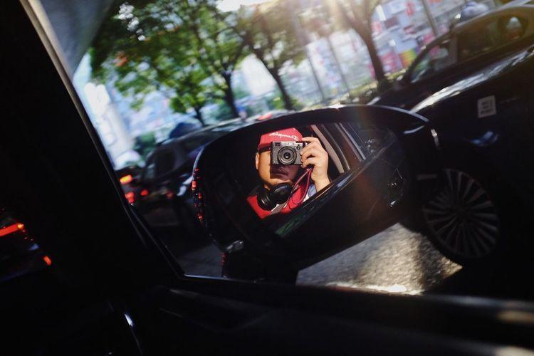 Portrait of car