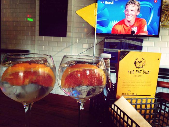 Zo.... Tijd voor een gin tonic ? Ned-mex Wk2014