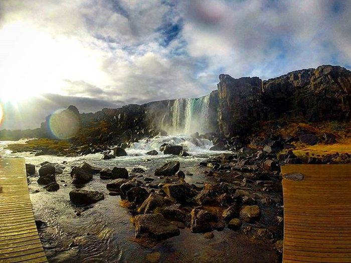 Thingvellir Nationalpark in Iceland Thatadventurelife AdventureThatIsLife Ig_iceland Wheniniceland Goprooftheday Heaven Picoftheday Photooftheday Skylovers Letsflythere Whyiceland MyStopover