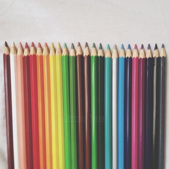 Rainbow Taking Photos Colors Fabercastell That's Me Lapis Color Portrait Likes