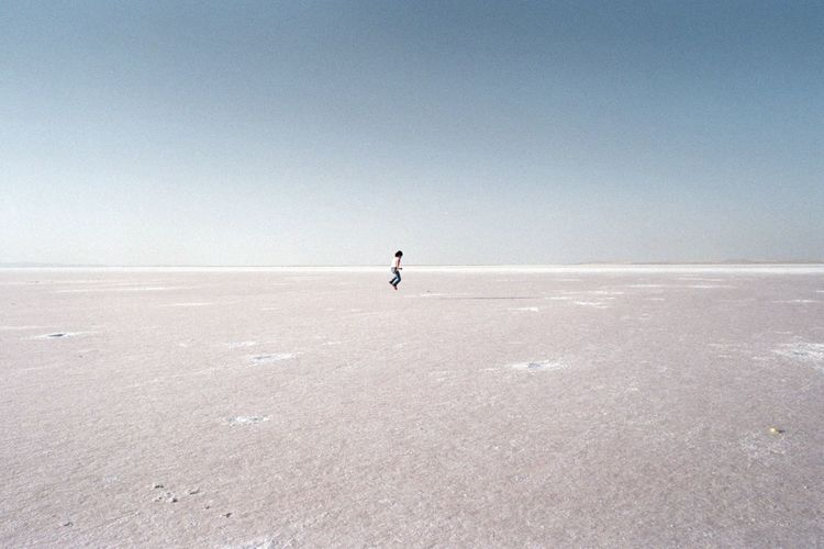 Landscape Salt Flat Beauty In Nature Analog Filmcamera Analogue Photography The Week On Eyem EyeEm Best Shots EyeEm Selects Beauty In Nature Lost In The Landscape
