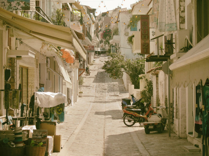 Skiathos island, Greece Architecture Building Exterior City Day Greece House Island Outdoors Street Summer Sunlight The Way Forward Travel Vacation EyeEm Best Shots EyeEm