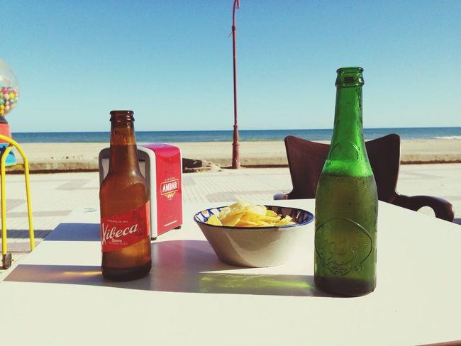 Biertime Beach Sunnyday Sonnetag Goodcompany
