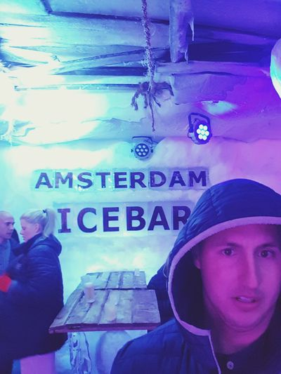 The face says it all...it was cold Amsterdam Icebaramsterdam Cold Temperature Amsterdam City Amsterdam Street Photography Life's Simple Pleasures... Tourist Enjoying Life Lifeofgreen EyeEm Best Shots One Man Only EyeEmBestPics Single Life  Walking Around Drinkswithaview