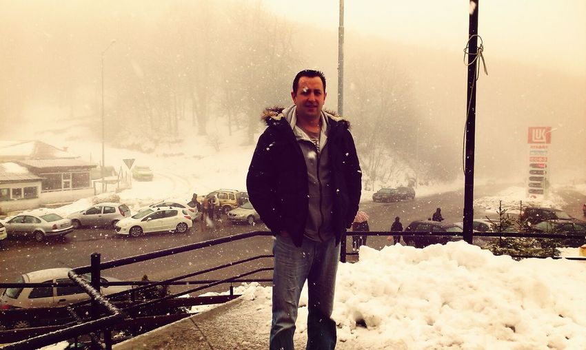 That's Me Myself Snow In April Macedonia