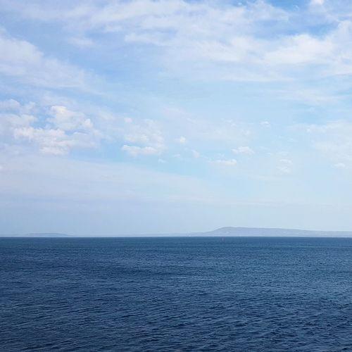 Shades of blue WeekOnEyeEm Landscape Life Is Beautiful Horizon Travel Destinations Beauty In Nature Sea Aroundtheworld Enjoying Life EyeEmSelect Sky Blue Sky Blue Wave Blue Water Ocean Ocean View