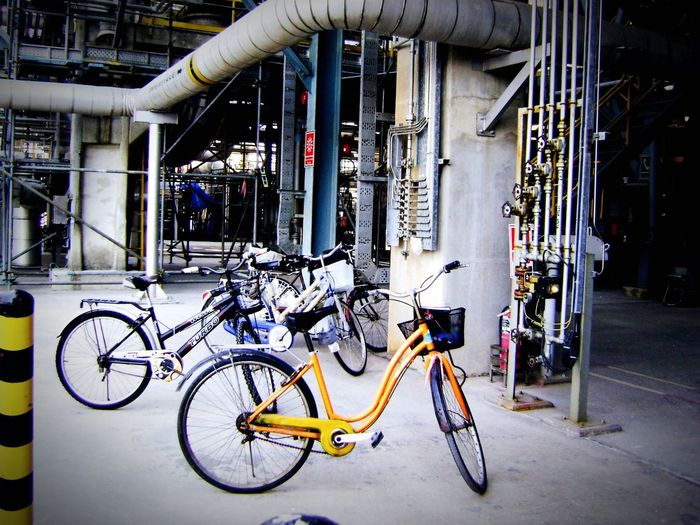 Bicycle... Bicycle Mode Of Transport Transportation Land Vehicle Stationary No People Outdoors Bicycle Shop Day