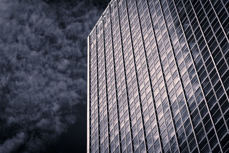 Architecture Building Exterior City Geometry Glass - Material Low Angle View Modern Office Building Skyscraper Pattern Pieces