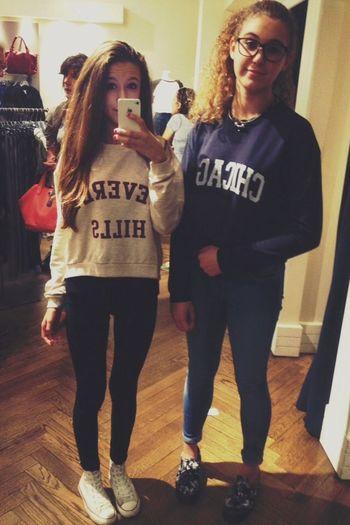 ••blonde & brunette•• Outfit FriendTime Subdued Ci Piace Tanta Roba Saldi Sales Happy My Love