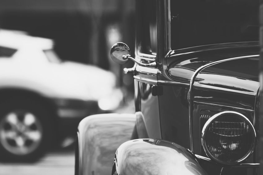 Vintage car with chrome Chrome Close-up Day Greaser HotRod Indoors  Land Vehicle Metallic No People Old Car Old Cars Shiney Shiney Metal Surface Transport Transportation Transportation Vintage Vintage Car Vintage Cars