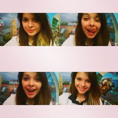 Emotions Me Happy Smile crazy fun littlemonster girl peace love