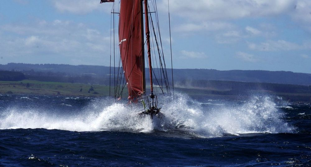 Adventure Journey Lake Taupo Newzealand Outdoors Power In Nature Roughsea Sailing Skill  Sport Weather Need For Speed
