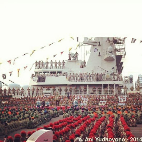 DIRGAHAYU TENTARA NASIONAL INDONESIA TNI ke -69 JAYALAH DI DARAT JAYALAH DI LAUT JAYALAH DI UDARA MATI SATU TUMBUH SERIBU ESA HILANG DUA TERBILANG Tetaplah menjadi tolak punggung kedamaian bangsa Menjadi tameng keamanan bangsa Tetaplah berkontribusi menjaga keamanan dunia Tetaplah menjadi penjaga rakyat Dekat dengan rakya. Repost From Ibu Negara @Aniyhudoyono. DirgahayuTNI Tnial Tniad TNIAU Kopasus Kopaska Denjaka Marinir Indonesiaiarforces Forces Military Tank Shukoi Defendmilitary Military INDONESIA NKRI Sby Aniyudhoyono .