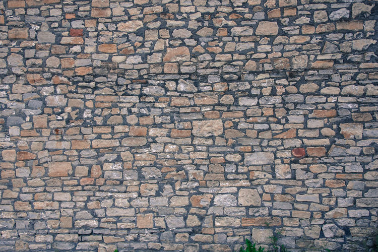 Was feeling uninspired so I took a photo of a wall ;) Backgrounds Brick Wall Bricks Detail Full Frame Outdoors Stone Wall Textured  Wall