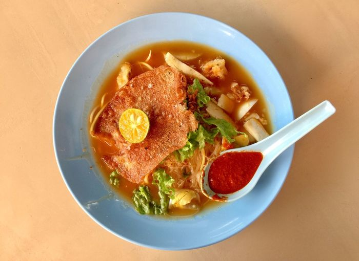 Mee Jawa Ready-to-eat Food And Drink Bowl Freshness Food Soup Healthy Eating Serving Size No People Table Meal Indoors  Noodle Soup Close-up Day Mee Soup Noodles Jawa Mee Chili  Hot Soup Healthy Food Hawker Food