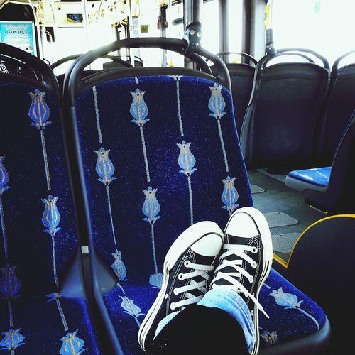 Otobus Taking Photos Relaxing Istanbul City