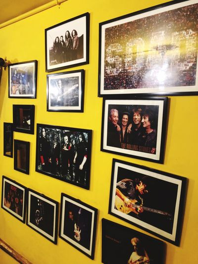 Yellow! Legends Bands That Saved Me Wall Art Cafe