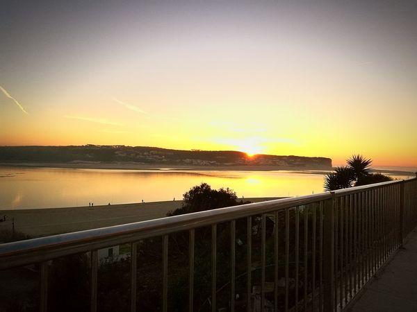 Foz do Arelho sunset🏖🌅⚓ Sunset Foz Do Arelho Portugal