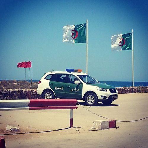 Dernier point en Algérie Porsay Tlemcen Frontière Algéro_marocaine