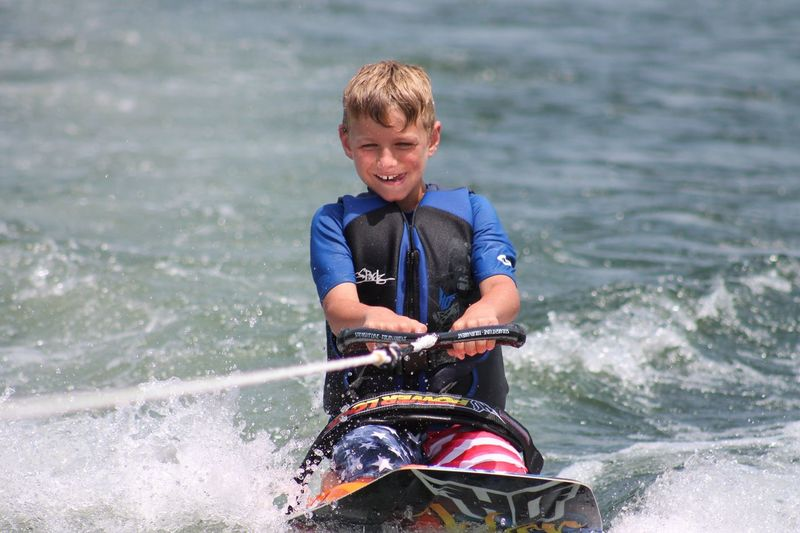 First time kneeboarding