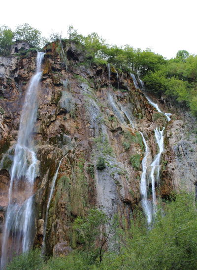 Croatia Djmarcop Trip Blurred Motion Outdoors No People Long Exposure Cliff Beauty In Nature Day Rock - Object Motion Scenics Tree Water Sky Waterfall Nature Mountain